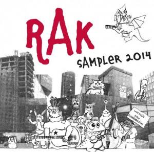 Cover vom Sampler 2014